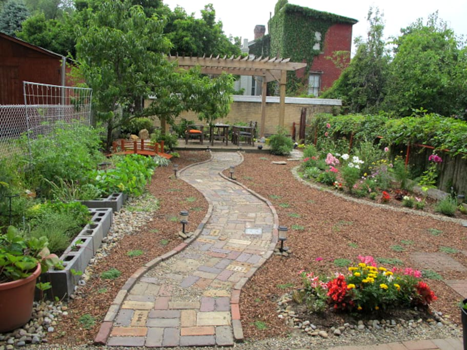 Big backyard – great for hanging out!