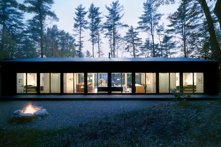Glass Cabin in the Woods - 希爾斯代爾(Hillsdale) - 小屋
