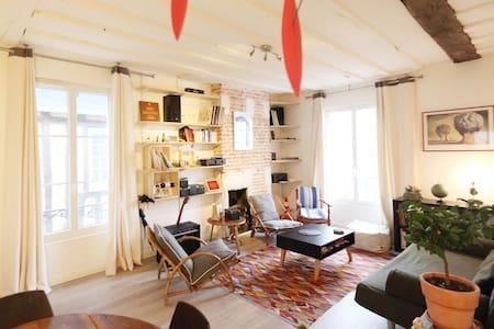 Appartement XVIIIème, Les Halles. - Appartement