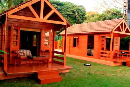 Beautiful Riverside Cottages At Betim, Goa - Nord-Goa - Blockhütte