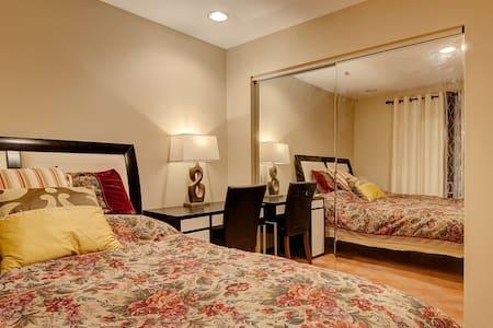 两个房间加一个浴室独享,适合家庭! - Villa