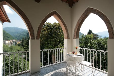 B&B with stunning views in Tuscany - Bagni di Lucca