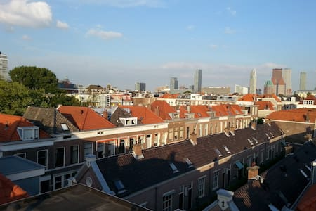 Central Private Top Floor & 360° Rooftop Terrace - The Hague - Loft