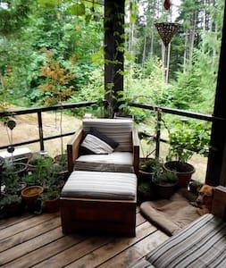Luxuriously Rustic Woodland Escape - Ház