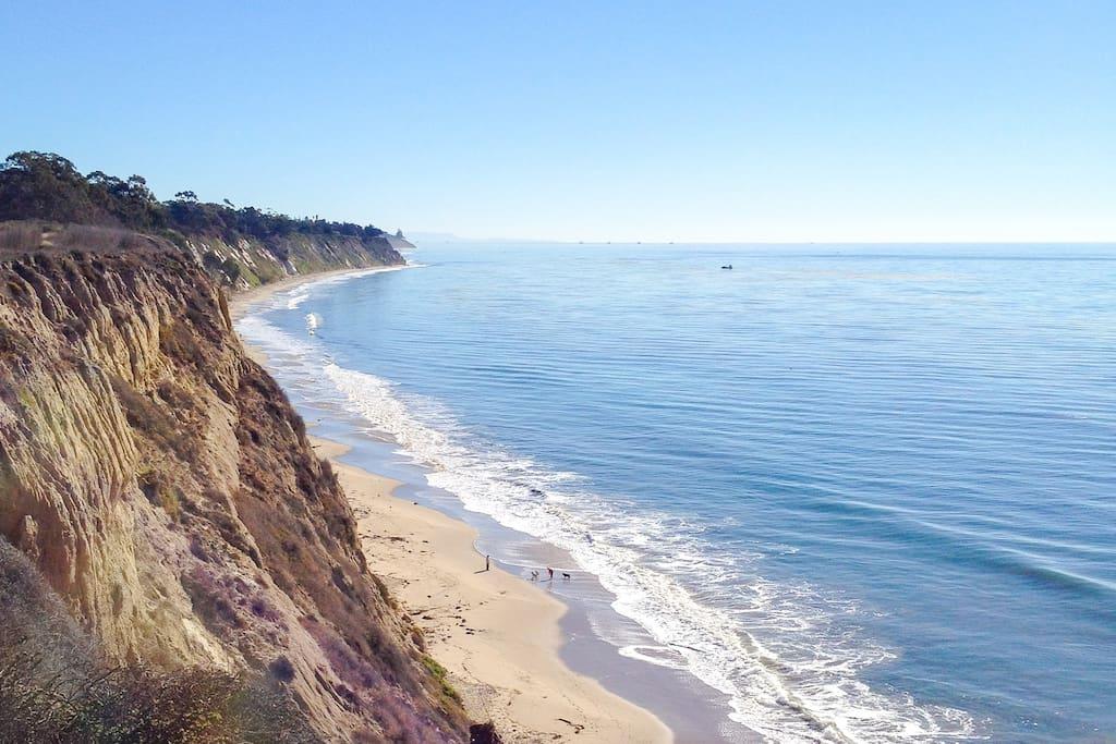 More Mesa Beach - just a 20-minute walk across the Mesa!
