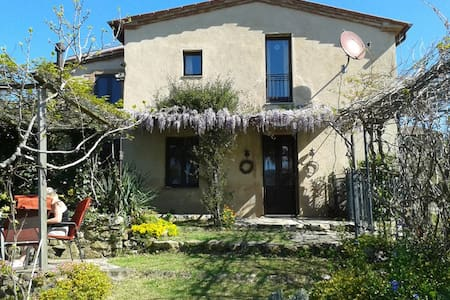 Ferienhaus Toskana mit Garten und Blick, Ortsrand - Haus