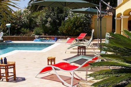 Logement avec piscine et terrasse - Bormes-les-Mimosas - Apartmen