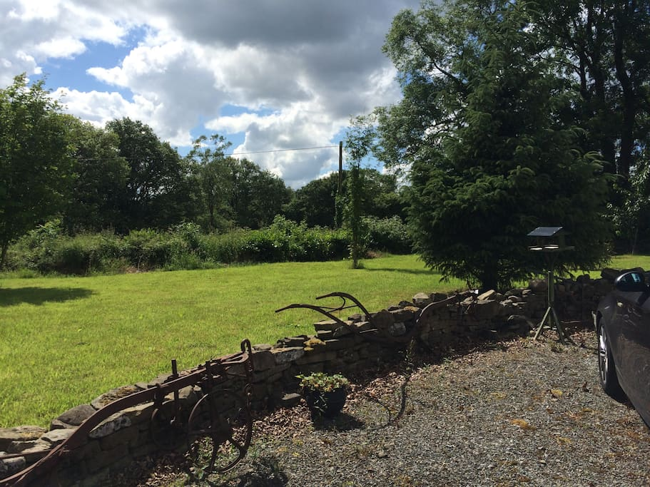 Sited on a large plot of land in a countryside location with great views and easy access to local villages.