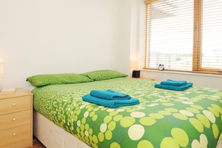 Hi! I have a nice, clean and sunny apartment for you.  This one bedroom modern apartment is in walking distance (3 minutes) to the Airbnb office, and less than 10 to the most famous search engine or the widely used social network offices.