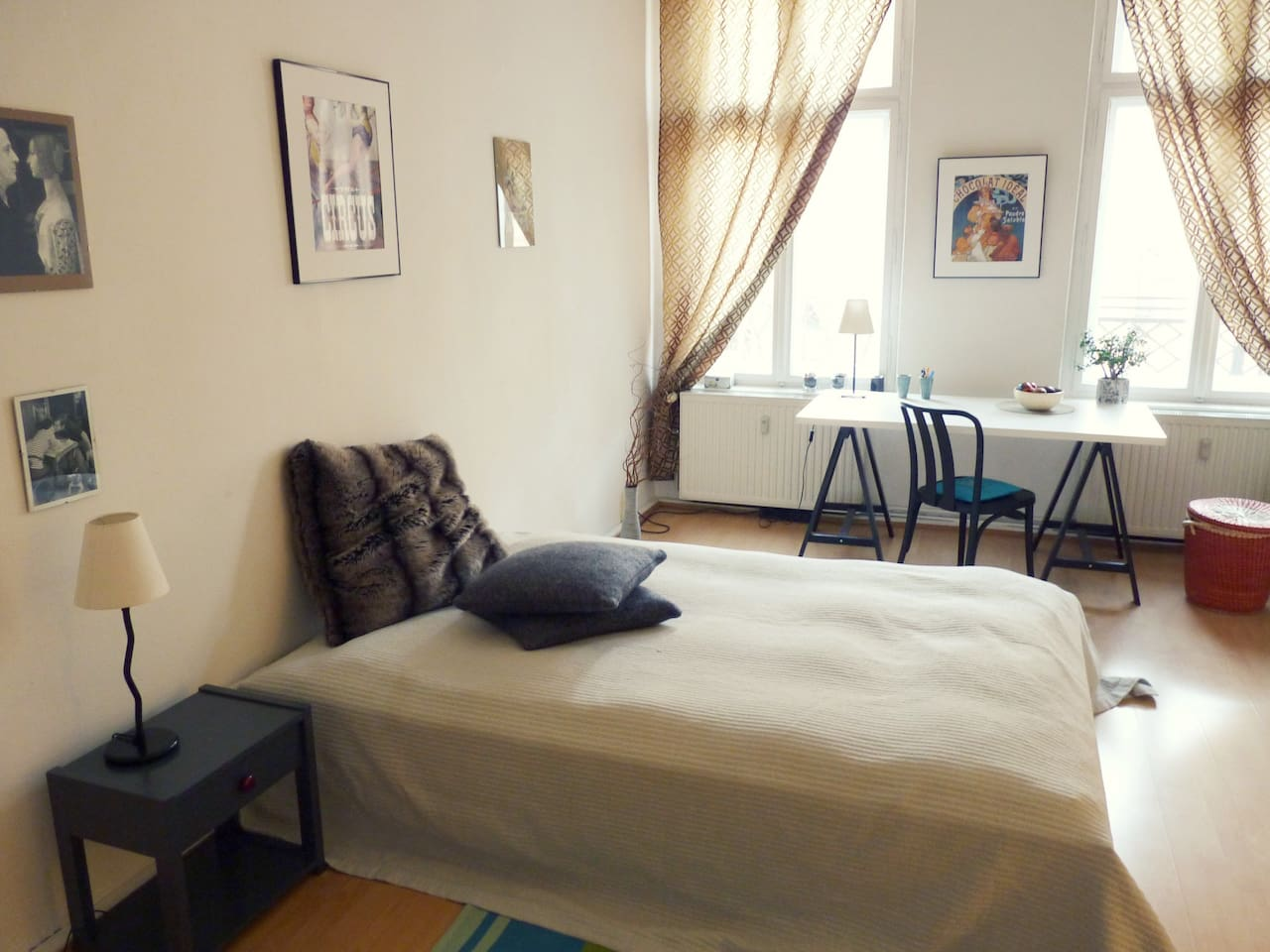 Your sunny, neat and cosy room in Prenzlauer Berg