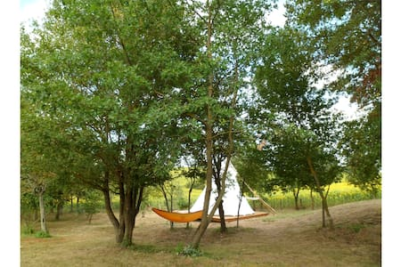 Tipi quiet, 1.5 hectare of land, game... - Tipi