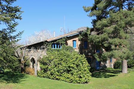 Casa con jardín en montaña de León - Casa