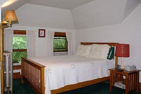 Red Room @ Fogarty's B and B - Saranac Lake