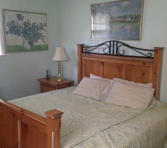 King Bed , Near Ocean, Enjoy Indian summer here - Belmar - Casa