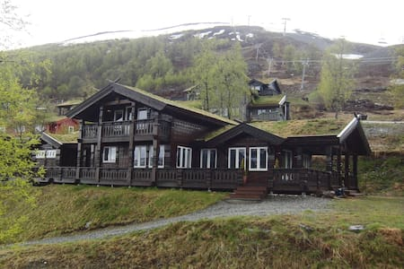Luxurious Large Cabin in mountain resort - Voss - Blockhütte