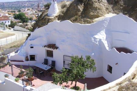 """Gite en Andalousie """"Cueva Amandier"""" à Guadix - Guadix - Caverna"""