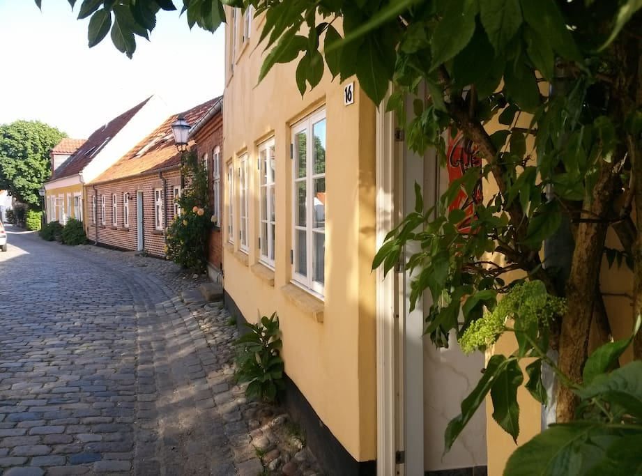 RIBEHUSET - A  PEARL IN  OLD TOWN