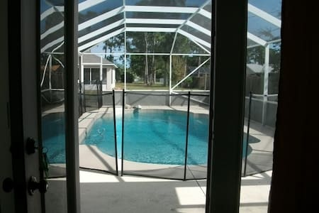 Cozy, quiet Guest annex with pool  - Port St Lucie