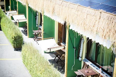 Sun...Fun...Ticino...!  Motel Riazzino - Bungalow