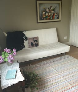Room and living near beach in Shédiac, NB - Shediac - Řadový dům