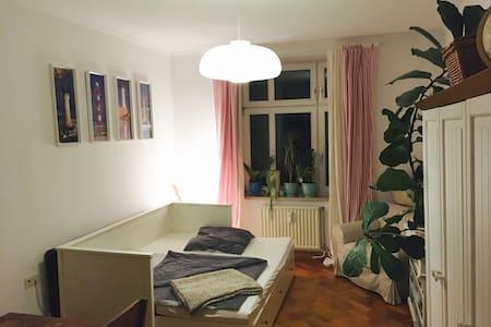 Ruhiges und zentrales Zimmer mit S-Bahn Anschluss - Munic