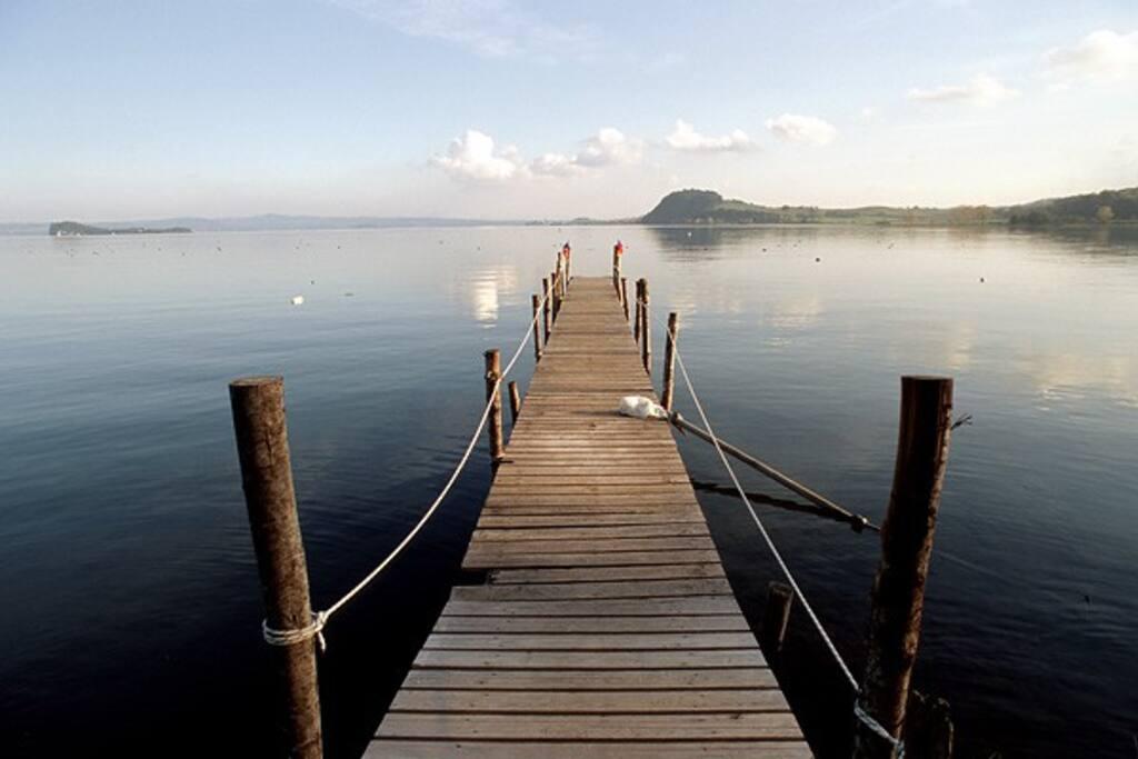 Lake Bolsena 15 minutes