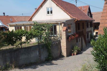 gîte au calme: - Dahlenheim - Apartment