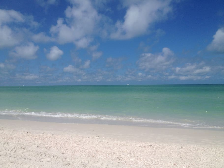 Beautiful water and sand from the Gulf of Mexico