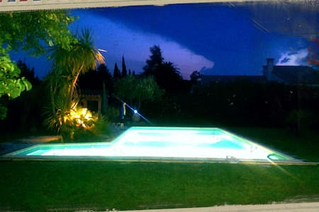 Beautiful villa with pool & garden - Perpignan