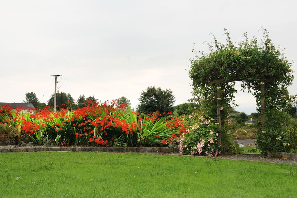 Large garden area suitable for both adults & children to enjoy.