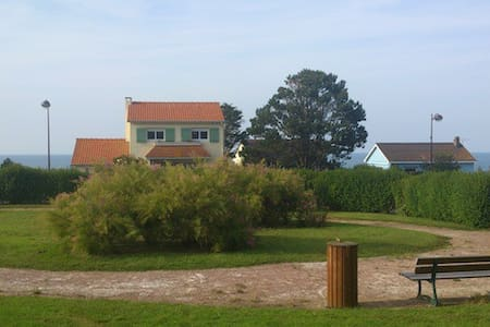 Villa agréable vue imprenable sur mer - Quiberville - Hus