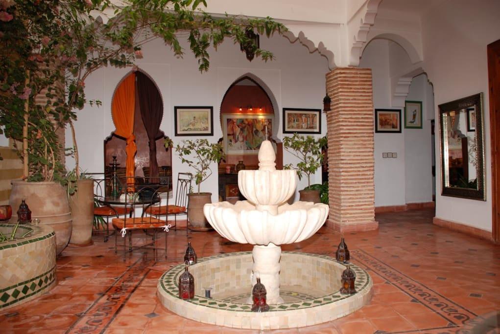 Riad AQUARELLE - Hôtel (chambres)