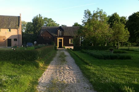 Country House with magnificent view - Huis