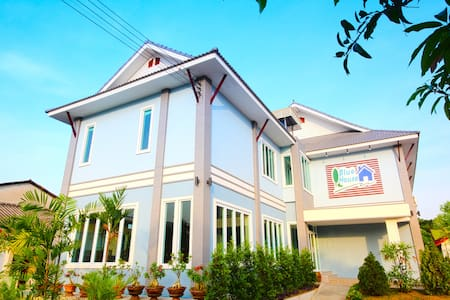 Double Bed, Blue House, Sukhothai - อำเถอเมือง