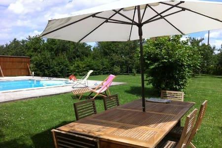 Très belle maison champenoise, piscine, Lac du Der - Arrigny - Villa
