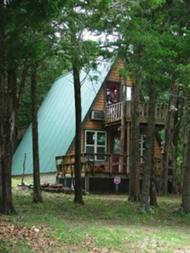 a woodland paradise