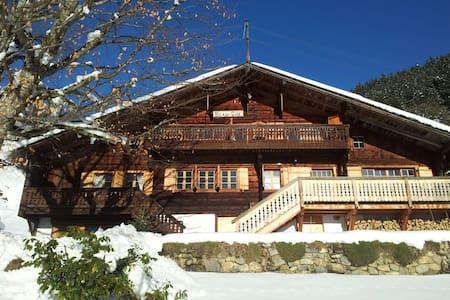 Vaudoise Alpes spacious Chalet - Alpstuga