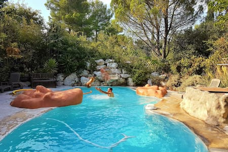Villa with pool, close to city, sea and mountains - Clapiers