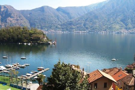 Modern Studio Bijou over Lake Como - Sala Comacina - Apartment