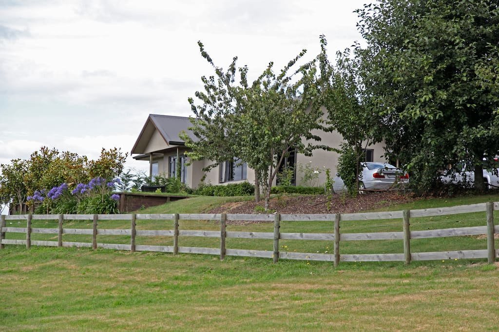 View of house from front paddock.