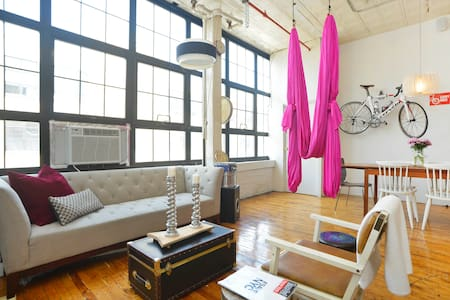 Dream loft, 10 minutes to Manhattan