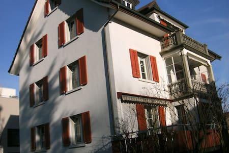 Stadt Aarau 5 Gehminuten vom HB, gemütliches Loft - Apartemen