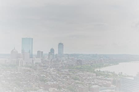 Private Room in Penthouse with Beautiful Views - Boston