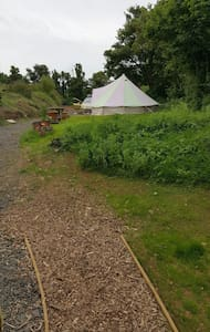 5m bell tent inc beds x4 - Tent