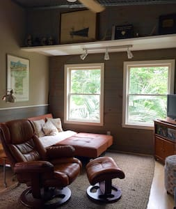 Quiet Carriage House Apartment. Enjoy Wilmington ! - Wilmington - Wohnung