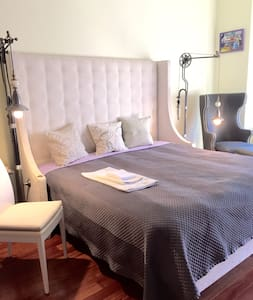 Spacious 2BR apartment steps to NYC - Jersey City