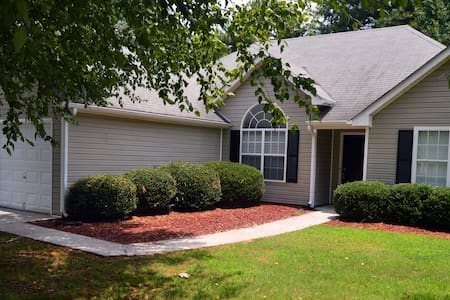 Cozy Atlanta Metro Area Private Rooms in a House - Snellville - Hus