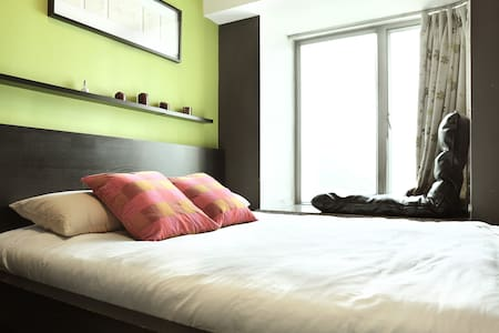 King Size Bed, Airport, MTR, Cable Car, Disney - Hong Kong - Apartment