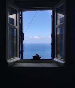 Amazing view from Potamos, Amorgos - House