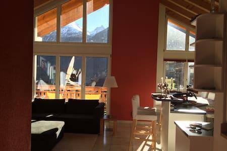 Breathtaking penthouse chalet in CH - Kippel